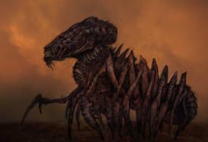 Desert creature IV by Pintoro
