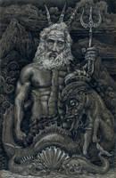 Poseidon by Pintoro