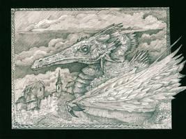 Dragon by Pintoro