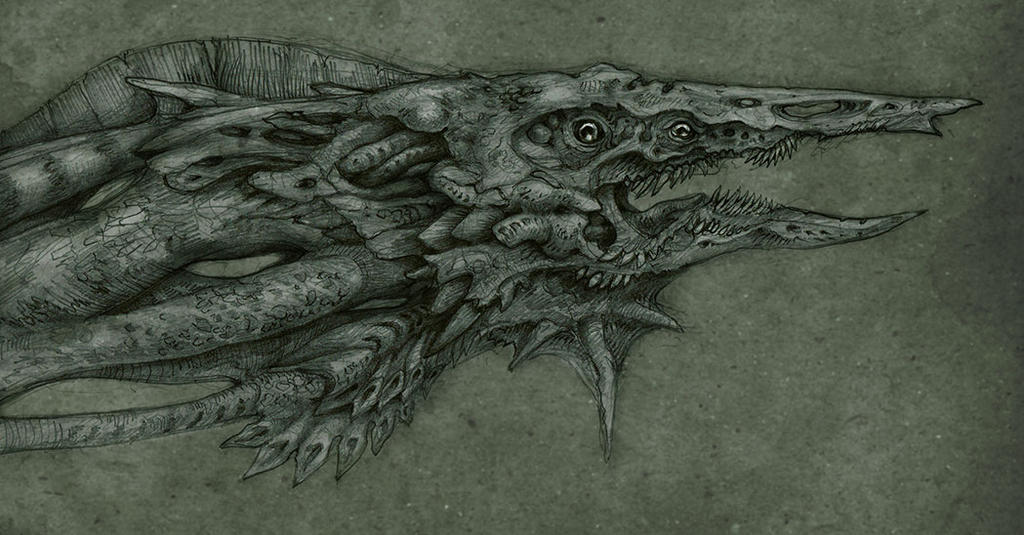 Sea creature by Pintoro