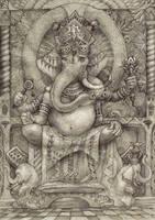 Ganesha by Pintoro