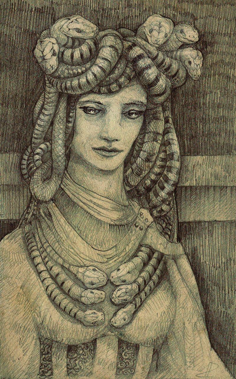 Medusa by Pintoro