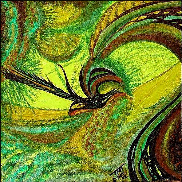 Green Wave by dalifan-teresa