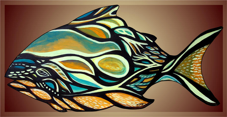Haida Fish by dalifan-teresa