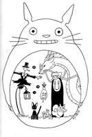 Ghibli by Yuett