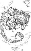 My dragon by Yuett