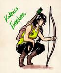 Katniss by Yuett