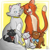 Everybody wants to be a cat by Yuett