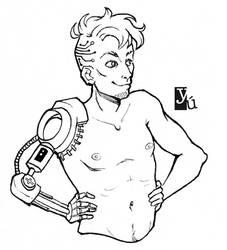 Day 3: Cyborg by Yuett
