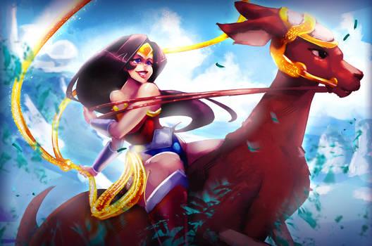 Wonder Woman and Jumpa