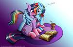 Suddenly, Rainbow Dash