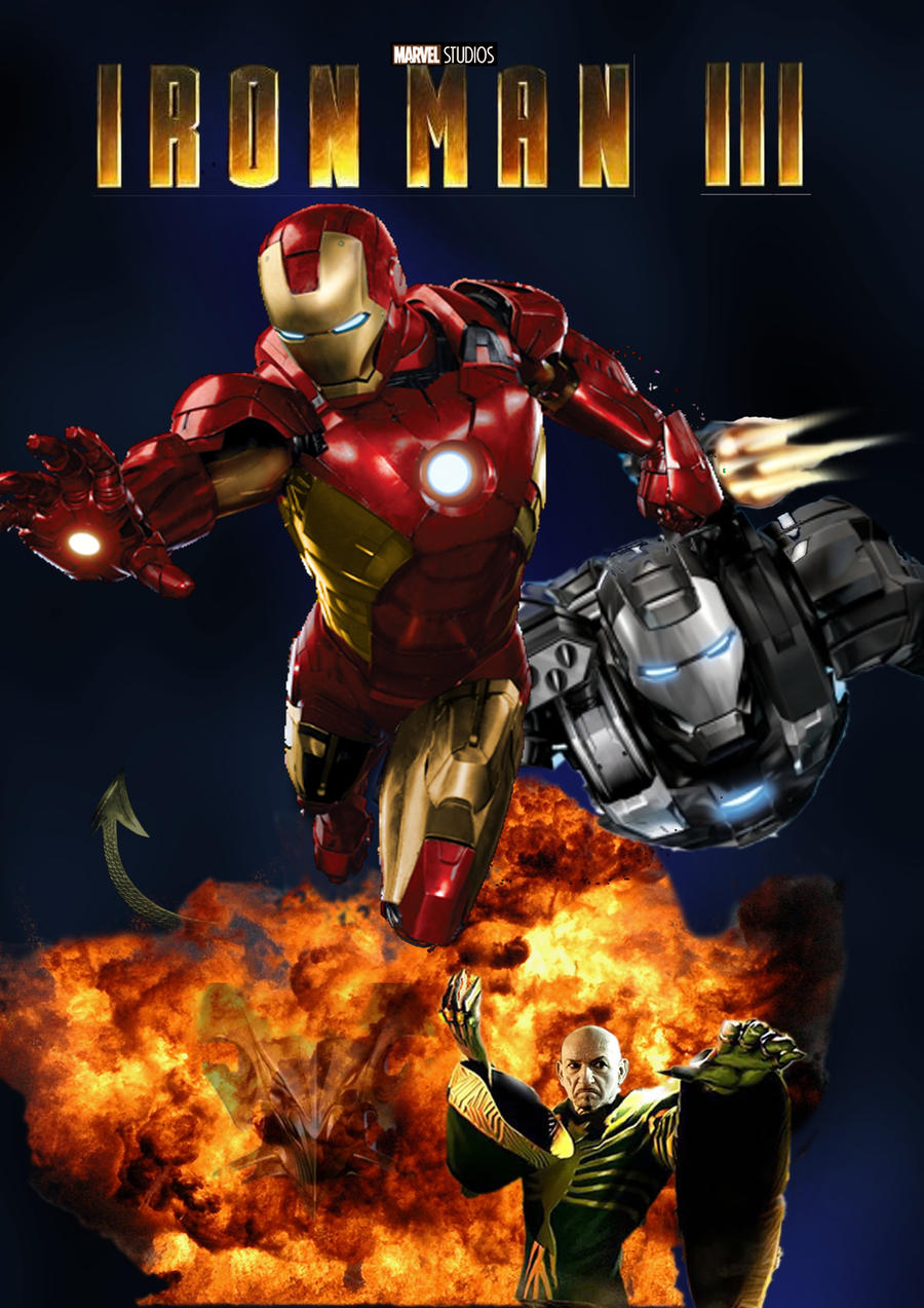 iron man 3 fan posterlucafon on deviantart