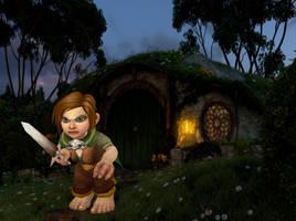 A Gnome Hobbit