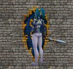 Stormwind Girl Guard Pinup 4 by Yumkim