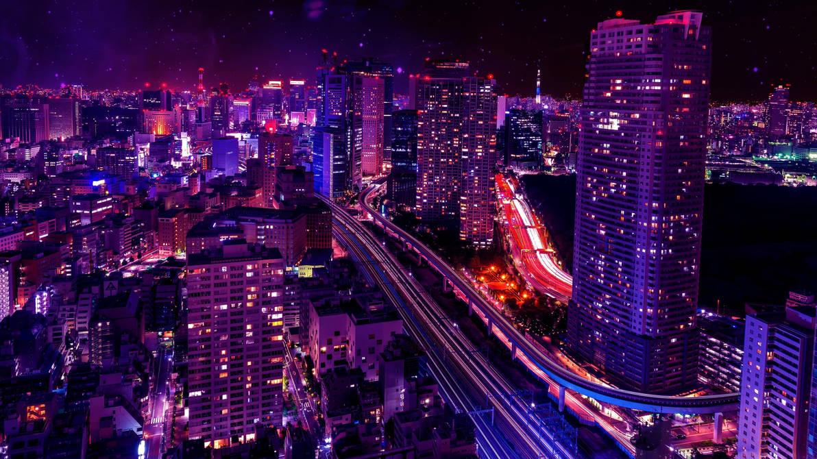 Живые Обои Ночной Город