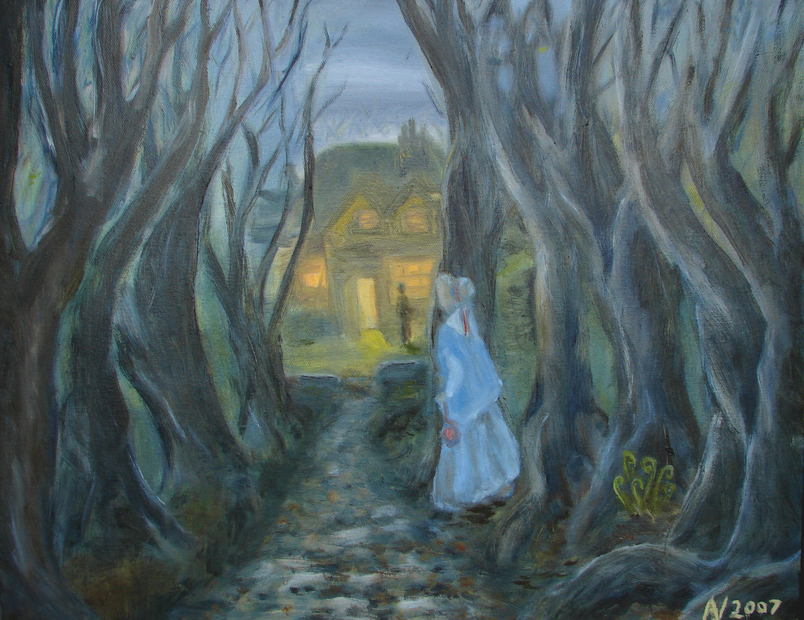 jane eyre painting