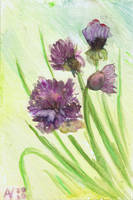 Chives by Starsong-Studio
