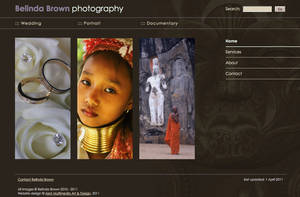 Photography website - WIP