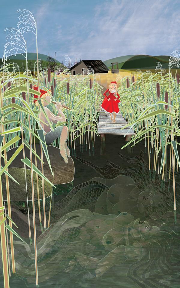 Der Knabe und der Wassermann III by Starsong-Studio