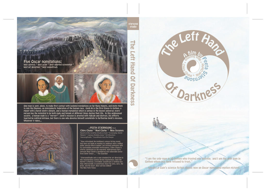 Left Hand of Darkness: DVD cover draft