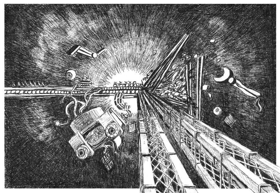Colliding Spacecraft
