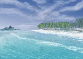 Postcard from Hawaiki by Starsong-Studio