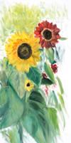 Sunflowers 1 by Starsong-Studio