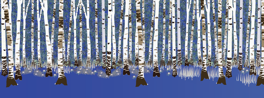 Building a forest: adding birches 1