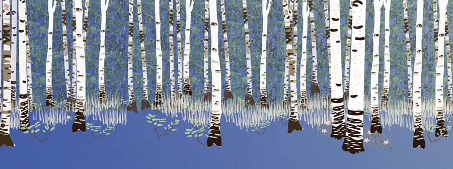 Building a forest: adding birches 2