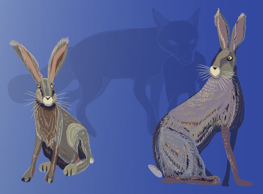 Harestory: first finished plate! by Starsong-Studio