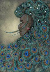 Peacock Prince by Starsong-Studio