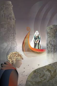Lady of the Lake - YA fantasy ebook cover
