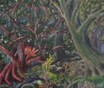 Dark Heart of Fangorn forest