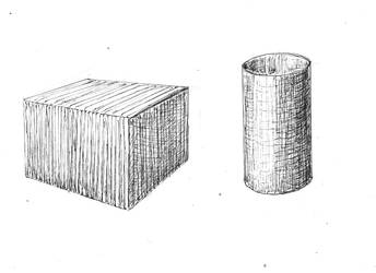 Box and Cylinder