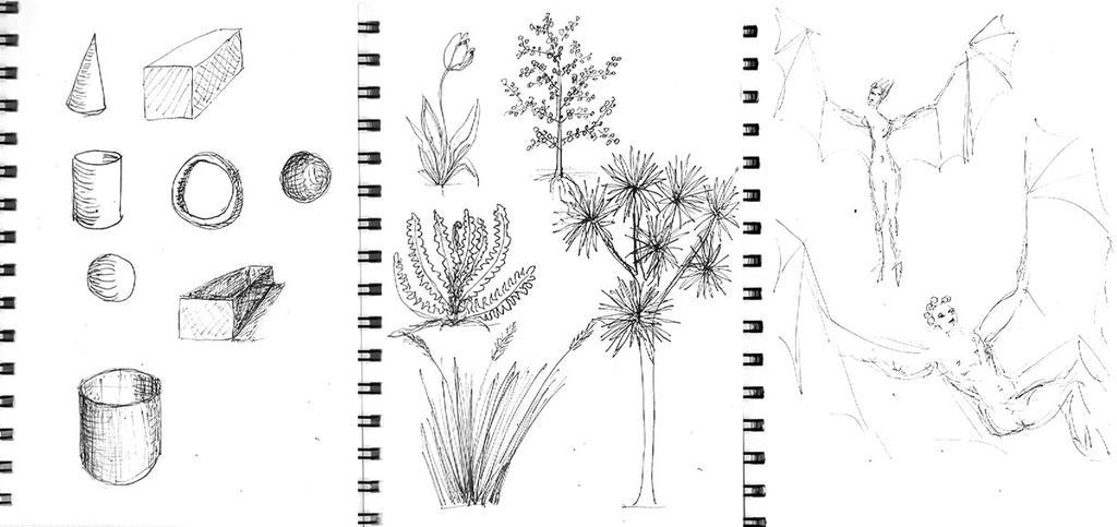 Sketchbook pages 1