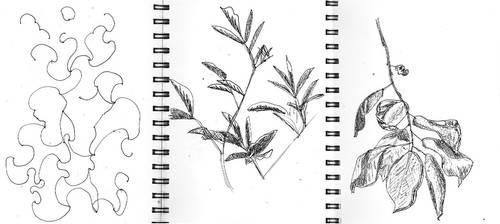 Sketchbook pages 2