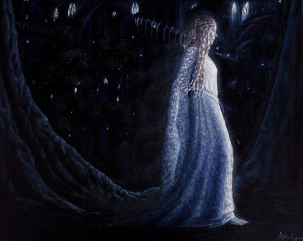 Lady of the Galadhrim by Gwillieth