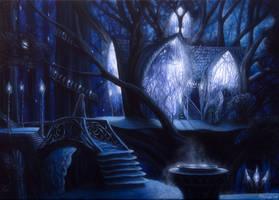 Caras Galadhon by Gwillieth