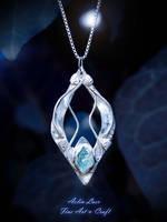 Nen Lathron silver pendant by Gwillieth