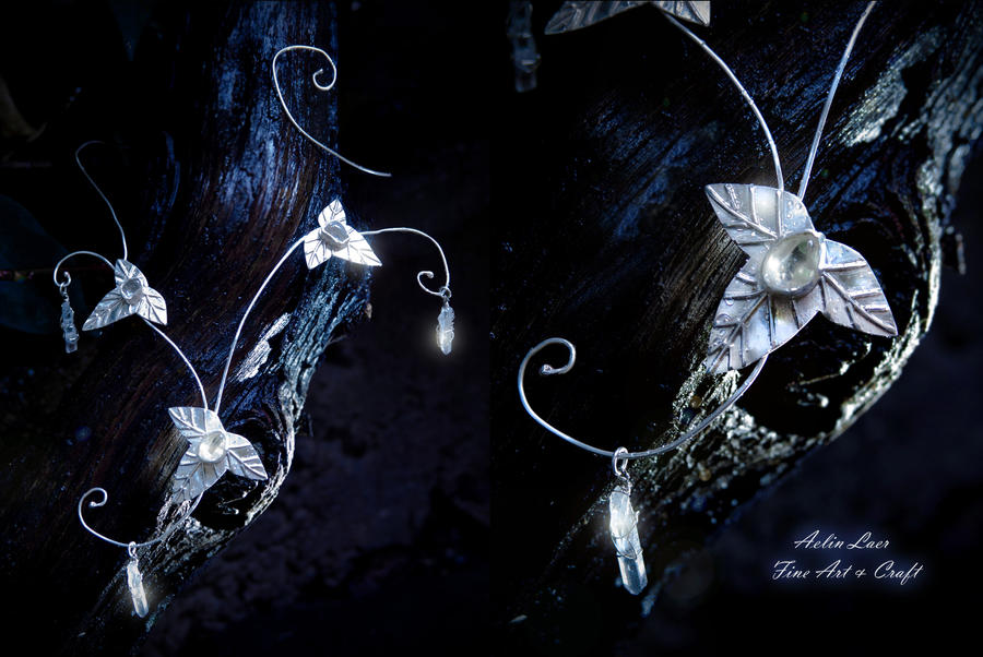 Stars Of Elbereth necklace by Gwillieth