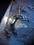 Invoking The Tides sterling silver talisman