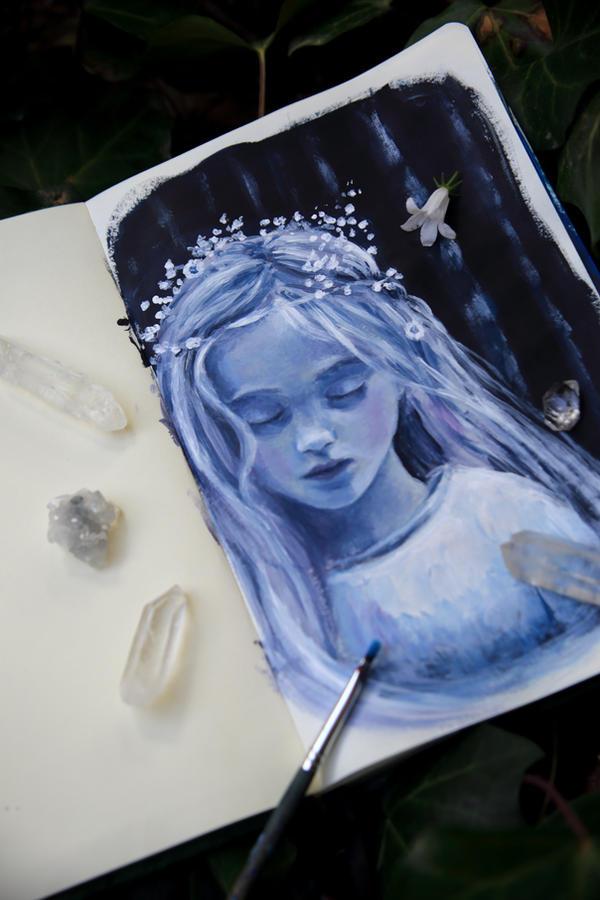 sketchbook by Gwillieth