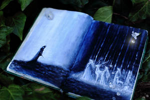celtic sketchbook the Sluagh Sidhe by Gwillieth