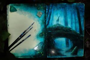 Otherworld Sketch by Gwillieth