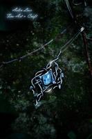 Northern Star Celtic Silver Talisman by Gwillieth