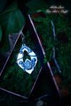 Young Moon silver talisman