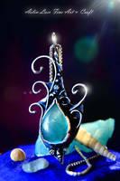 Sea Soul silver Talisman by Gwillieth