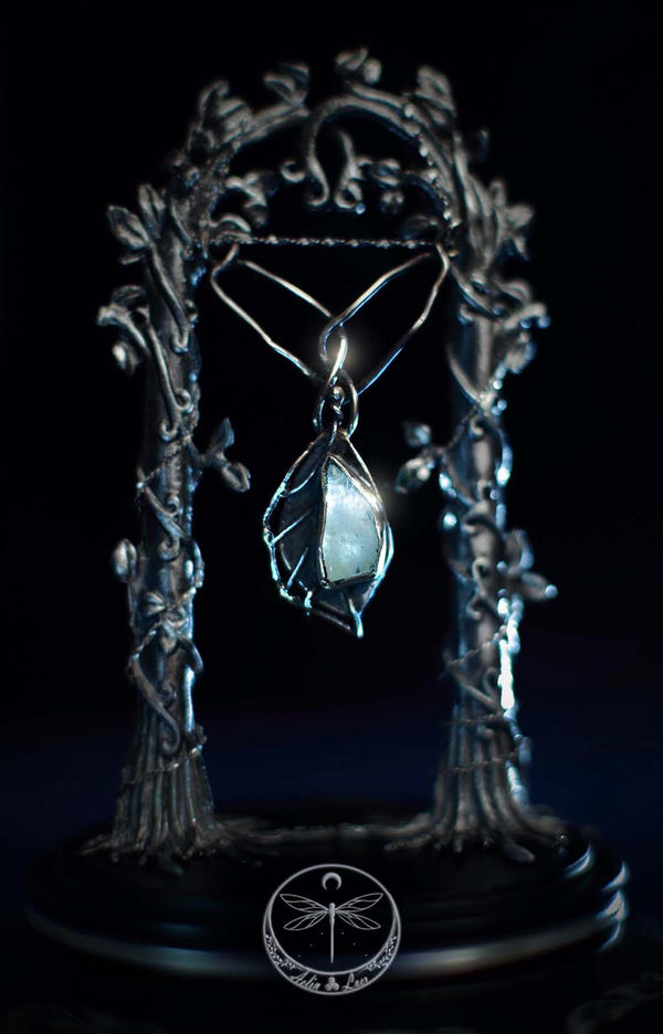 The Light of Water silver Talisman
