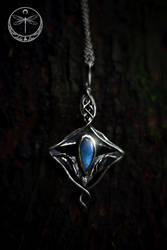 Portal to the Other Side silver Talisman