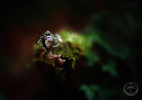 Foxglove Dreams silver ring